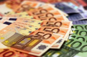 50 a viac eurové bankovky